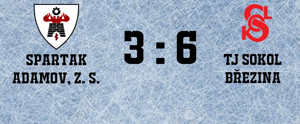 Hokejisté v prvním zápase porazili Adamov